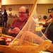 Jared, Luke, and the sushi boat