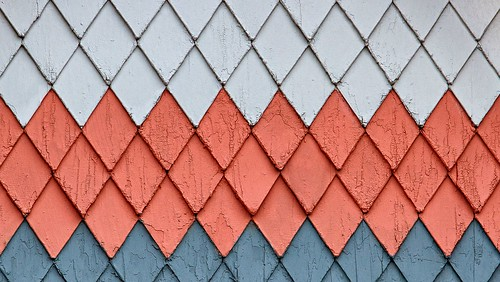 Pattern on a House in Longmont by SammCox, on Flickr