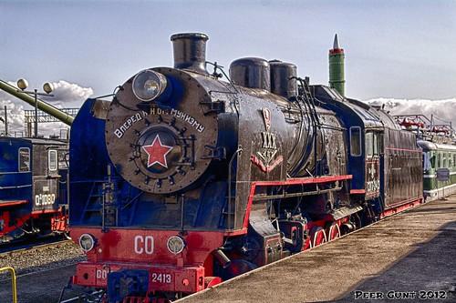 Soviet Freight Locomotive SO  Class (Sergo Ordzhonikidze). 1938. Советский паровоз класса Серго Орджоникидзе (СО). ©  Peer.Gynt