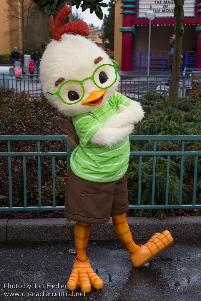 & Chicken Little at Disney Character Central