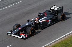 Nico Hlkenberg - Sauber C32 (Luis Prez Contreras) Tags: test de one march f1 days formula sauber catalunya nico circuit c32 montmel 2013 hlkenberg