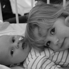 My babies <3 (Laura_riggy) Tags: smile butterfly princess sister brother daughter son grandad bathtime valentinesday 50shadesofgrey
