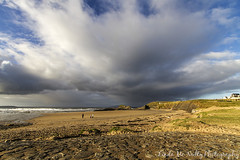 Bundoran Beach (linda_mcnulty) Tags: ireland sea seascape beach water rock clouds canon landscape wide donegal bundoran