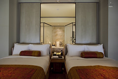 Double Beds (A. Wee) Tags: plaza indonesia hotel jakarta spg keraton luxurycollection