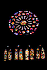 Interior de Catedral de Leon (Bvil) Tags: catedral vidrieras gotico catedraldeleon