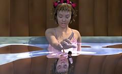 Hot Tub (jacens0l0) Tags: 3d small tiny hottub shrunken giantess gts shrinking shrunk smallman tinyman luxrender stephanie5