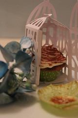 Tiramisu cupcake (crayonmonkey) Tags: food cute home cake miniature baking sweet small decoration cupcake gift treat
