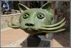 Mt Buller Sculpture Park (PhotosbyDi) Tags: mtbullersculptures cat bronze sculpture mtbuller animal nikond600
