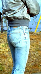 1629 (SkinTight501s) Tags: wranglers guys jeans tight levis skintight