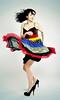 Twist again (anj_p) Tags: lighting girl fashion burlington pose studio model figure emilie bac strobes