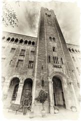 YMCA (amira_a) Tags: bw building tower sepia israel nikon jerusalem sigma ymca 1020mm hdr d5100