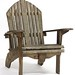 28. Single Adirondack Chair