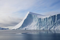 Giant Iceberg, Greenland (Stefan Schinning) Tags: blue reflection ice giant bay nikon explore greenland iceberg disko il