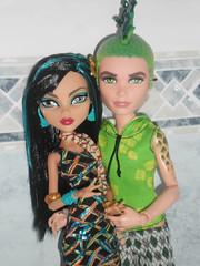 This is love (meike_1995) Tags: monster de high dolls nile cleo mattel deuce gorgon 2013 scaris