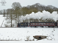USA Tank 65 heading up Eardington Bank into Bridgnorth late this afternoon (Pete Withers) Tags: