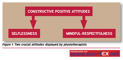 Two crucial attitudes displayed by physiotherapists (sportEX journals) Tags: injury medicine mindfulness rehabilitation sportex