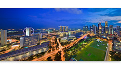 Singapore CBD (Albert Photo) Tags: road city blue cloud night singapore streetlights cbd hsbc citylinkmall boatquay dbs clarkequay padang sunteccity ocbc fullertonhotel marinabay uob maybank theesplanade theritzcarlton singaporecricketclub marinabaysands gbtb singaporerecreationclub standrewscathedral singaporemerlionpark mandarinmandarin singaporefiyer singaporemedationcentre mandarinotientall
