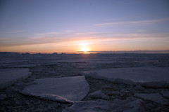 "Dawn over a frozen Antarctic Sea • <a style=""font-size:0.8em;"" href=""http://www.flickr.com/photos/16564562@N02/8595925976/"" target=""_blank"">View on Flickr</a>"