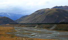 ahuriri valley I (rinathompsonphotography) Tags: newzealand mountains nature rain river landscape nz southisland ahuriri ahuririvalley rinathompson