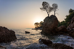 12-Wild-beach-1 (xbody) Tags: travel trees sunset sea wild summer sky mountains beach landscape europe croatia adriatic