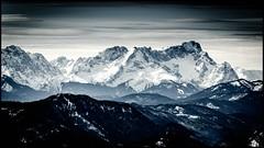 Zugspitze (BM-Licht) Tags: schnee mountain snow mountains berg germany bayern deutschland bavaria nikon berge 70200 schneeschuhe fockenstein vr2 d7000