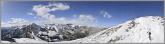 Yamnuska Summit Panorama VE6/HC-031 (VA6MCB) Tags: mountain canada mountains berg radio rockies austria air hill upper funk summit amateur antenne antenna amateurfunk haute trig hamradio amateurradio sota hf summits qrp activations summitsontheair bergfunk