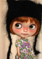 Pepper (buganville) Tags: doll redhead blythe freckles custom toletole