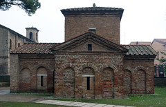 Exterior elevation, The Mausoleum of Galla Placidia