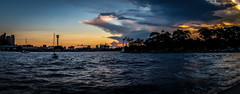 Harbour sunset (Kalahari kid) Tags: sunset harbour sydney bluespoint