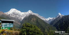 Annapurna, Nepal - Himalaya View (GlobeTrotter 2000) Tags: travel nepal panorama mountain snow mill tourism expedition trekking trek rice terrace outdoor hiking altitude peak visit glacier climbing summit fields abc agriculture himalaya everest range pokhara sherpa annapurna sanctuary basecamp fishtail annapurnabasecamp annapurnai machapuchare