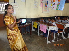 Using ICT to teach in a primary school in Chennai, India (GlobalPartnership for Education) Tags: india education technology teacher chennai primaryschool gpe numeracy primaryeducation basiceducation globalpartnershipforeducation deepasrikantaiah