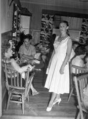 Fashion Show - Aycock Brown Collection 001 (Outer Banks History Center) Tags: bathingsuits fashionshows nagsheadnc