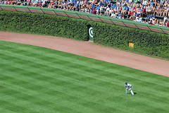 Wrigley Field (russ david) Tags: park chicago field wall baseball stadium july ivy cubs wrigley 2012