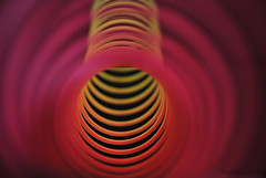 The tunnel (Tony Dias 7) Tags: red macro yellow colours dof tunnel