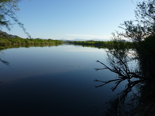 Salt River at Granite Reef Recreation Site