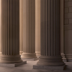 National Archives Pano #2 (josullivan.59) Tags: wallpaper 3exp texture usa unitedstates panorama artisitic architecture architectural day detail downtown dc disctrictofcolumbia geometric historical history june light lightanddark canon6d nicelight minimalism columns backlit 2016