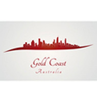 Gold Coast skyline in red (Logo Mania) Tags: goldcoastskyline goldcoast skyline australia oceania travel architecture backgrounds building city cityscape downtown illustration isolated landmark landscape metropolis red outline panorama gray silhouette skyscraper tower urban white vector