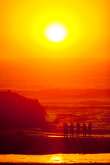 sunset selfie (grafficartistg4) Tags: beach oregoncoast pacificcoast pacificocean sun sunset water waves ©joshuapeterson2016 lincolncity oregon unitedstates
