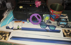 20150606 - yardsale haul - IMG_0474 (Rev. Xanatos Satanicos Bombasticos (ClintJCL)) Tags: 20150606 201506 2015 yardsale yardsale20150606 virginia alexandria clintandcarolynshouse upstairs light lights blacklight blacklights boombox hitachiboombox hitachicxw750wboombox hitachicxw750w hitachi roofingnail roofingnails nail nails roofing galvanizednail galvanizednails galvanized spidermantrashcan trashcan spiderman entertainment comic comics comicbook comicbooks instrument tambourine batmanmagnet magnet batman greenlanternmagnet greenlantern toy batmanactionfigure actionfigure tv tvshow cartoon cartoons cartoonshow simpsons thesimpsons character characterbartsimpson bartsimpson characterbartman bartman cheerileefigurine figurine cheerilee mylittleponyfigurine mylittlepony mylittleponyfriendshipismagic book madlibs babyeinsteinpillow pillow babyeinstein glasses sunglasses wood eraser