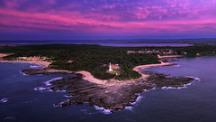 Norah Head Lighthouse (Jay Daley) Tags: norahheads norahheadlighthouse aerial dji inspireonepro djix5 drone nsw centralcoast
