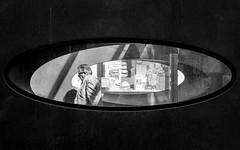 Elliptical (Sven Hein) Tags: mann fenster menschen leute strasse sommer schwarzweiss strassenfotografie elliptical man window people street streetlife summer bw blackandwhite candid streetphotography sony alpha 6000 ilce