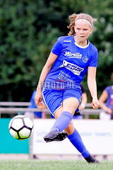 SPORTS: PSV WOMEN v KRC GENK WOMEN | LUC NILIS CUP in ZONHOVEN, Belgium. Photo by Thomas BAKKER FotoTB.nl 2016 (Fototb.nl) Tags: soccer action onepersoninvolved ontheball placingball portrait fulllength zonhoven flemmings belgium hol