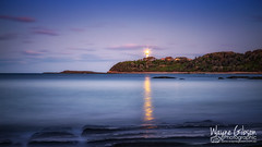 Looking South....JeD007 (wgphotographic) Tags: lighthouse norahhead sunset twilight