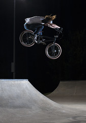 Justin Coble 270 over hip (KyleKisling) Tags: d700 nikon nikond700 shootnikon action actionsports actionphotography bmx bmxphotography skatepark strobes strobist pocketwizards