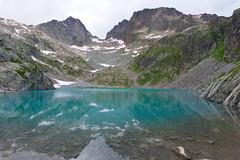 (sabrandt) Tags: lacblanc chamonix chamonixvalley france travel lake glacier blue glacierlake alps frenchalps hiking mountain aiguillerouge europe