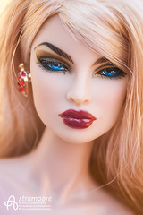 Lana (astramaore) Tags: eugenia most desired blonde red blue 16 fashion royalty doll toy astramaore fashionroyalty fashiondoll integritytoys dollphotography fulllips chic beauty glamour portrait