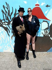 Dr. Takeshi Yamada and Seara (Coney Island Sea Rabbit) visited the Coney Island Polar Bear Club at the Coney Island Beach in Brooklyn, New York on March 27 (Sun), 2016. mermaid. merman. Happy Easter Bunny.   20160327SUN DSCN4690=0015p2C1. Allyson Howard. (searabbits23) Tags: searabbit seara takeshiyamada  taxidermy roguetaxidermy mart strange cryptozoology uma ufo esp curiosities oddities globalwarming climategate dragon mermaid unicorn art artist alchemy entertainer performer famous sexy playboy bikini fashion vogue goth gothic vampire steampunk barrackobama billclinton billgates sideshow freakshow star king pop god angel celebrity genius amc immortalized tv immortalizer japanese asian mardigras tophat google yahoo bing aol cnn coneyisland brooklyn newyork leonardodavinci damienhirst jeffkoons takashimurakami vangogh pablopicasso salvadordali waltdisney donaldtrump hillaryclinton polarbearclub