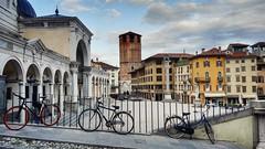 (Cristina Birri) Tags: udine castello loggia biciclette piazza libert piazzalibert