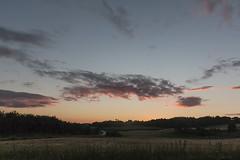 Aftenhimmel (Walter Johannesen) Tags: herritsdal mlle natur landskab sommer aften summer evening sunset solnedgang