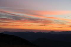 Sunrise on Vercors (leblondin) Tags: nuages clouds ciel sky montagne orange levdesoleil drome valle